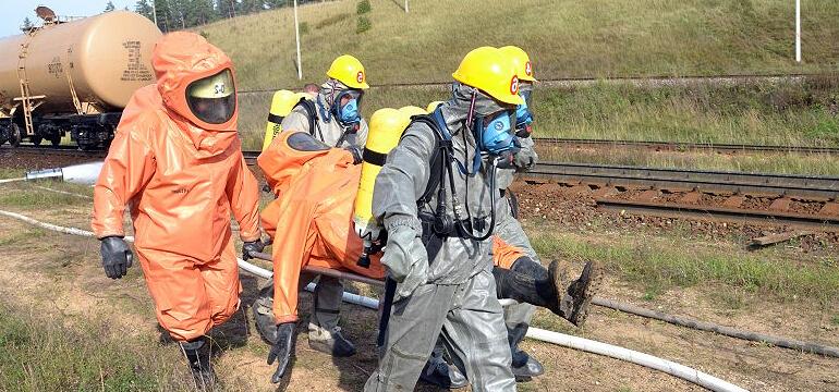 ликвидация химической аварии