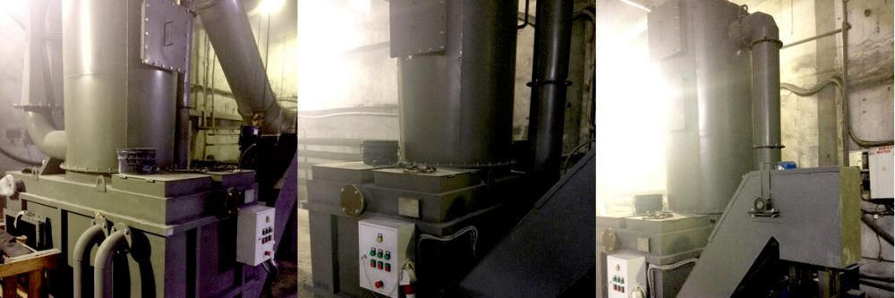 venturi scrubber for steel industry